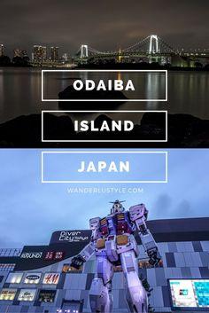 Odaiba Island at night (Japan) | Wanderlustyle.com