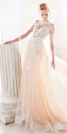 Beautiful Nicole Spose Wedding Dresses 2018 ❤ See more: http://www.weddingforward.com/nicole-spose-wedding-dresses/ #weddings