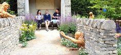 The Meningitis Now Futures Garden - Pumpkin Beth Garden Walls, Chelsea Flower Show, Hedges, Young People, 30 Years, Beautiful Gardens, Art Work, Charity, Markers