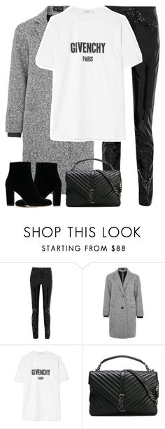 """Untitled #3277"" by elenaday on Polyvore featuring Yves Saint Laurent, Topshop and Givenchy"