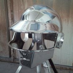 New Chrome on #DaftPunk helmet