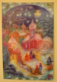 this year's advent calendar by waldorf mama, via Flickr