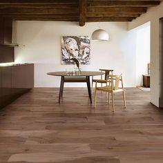 Stunning View for Floor Tile Dining Room decorating Ideas Wood Effect Floor Tiles, Tile Floor, Modern Wood Floors, Stone Interior, Moving Furniture, Best Flooring, Custom Kitchens, Wet Rooms, Living Spaces