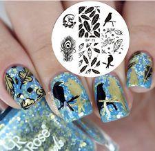 Winter Nails Designs - My Cool Nail Designs Winter Nail Designs, Christmas Nail Designs, Cool Nail Designs, Winter Nails, Summer Nails, Blue And White Nails, Feather Nail Art, American Nails, Nail Art Stamping Plates