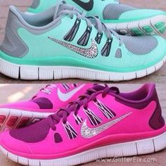 The collocation of the color is pretty.nike shoes $65.00