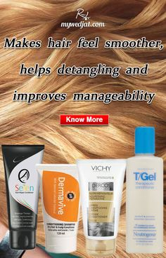 Essential conditioners makes your hair feel soft and smooth