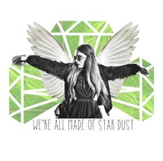 """""""we're all made of star dust"""" by fashionisall12 ❤ liked on Polyvore featuring art"""