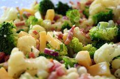 Bloemkool-broccolisalade (2)
