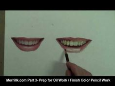 How to Draw a Smile, Mouth, Lips, Teeth