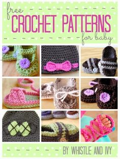 Free Crochet Patterns for Baby - U create