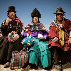 Aymara and Quechua Indians of   Bolivia & Peru