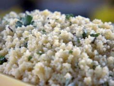 Get this all-star, easy-to-follow Lime Couscous with Mint recipe from Sandra Lee
