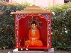 BUDDHA TEMPLE IN MY GARDEN
