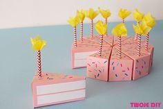 Papierowy tort Twoje DIY 1