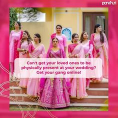 Join the bandwagon of the NEW VIRTUAL WEDDING phenomena -The new way to have your nearest and dearest in attendance at your wedding without being there physically: live streaming!  DM us to know the deets.  #askpankhuri #pankhuribride #bride #virtualwedding #intimatewedding #virtualweddingplanner #virtualweddingplanning #virtualweddingplanningtips #virtualweddingservices #onlinewedding #onlineweddingplanner #weddingplanning #onlinewedding #modernwedding #pandemic #covidwedding… Online Wedding Planner, Attendance, Wedding Planning Tips, First Love, Join, Bride, Wedding Bride, First Crush, Bridal