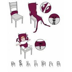 Чехол на стул для кормления своими руками