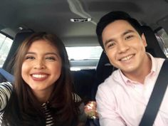 Photos and videos by Maine Mendoza ( Maine Mendoza, Alden Richards, Singer, Photo And Video, Couple Photos, Pinoy, Relationship Goals, Philippines, Road Trip