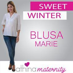 #blusa #marie de #maternidad #maternity en #athinamaternity
