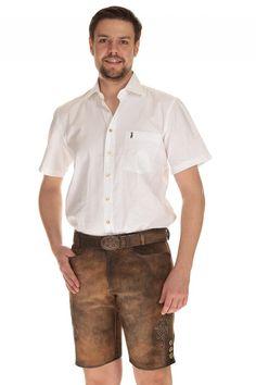 trachtenlederhose mit reißverschluss herren - Google-Suche Button Down Shirt, Men Casual, Google, Mens Tops, Shirts, Fashion, Casual Man, Searching, Leather