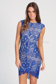 celeste lace dress - royal blue | Esther clothing Australia and America USA, boutique online ladies fashion store, shop global womens wear worldwide, designer womenswear, prom dresses, skirts, jackets, leggings, tights, leather shoes, accessories, free shipping world wide. – Esther Boutique