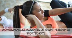 Er zijn een aantal onvermijdelijke dingen die je tegenkomt in de sportschool, zoals een knalrood hoofd en zweetplekken.