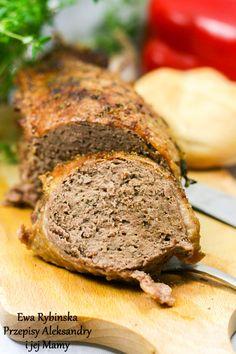 Przepisy Aleksandry: MIELONA PIERŚ Z GĘSI Polish Recipes, Meatloaf, Food Inspiration, Poultry, Banana Bread, Pork, Food And Drink, Cooking Recipes, Dinner