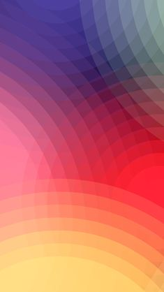 Abstract Colorful Overlapping Circles iPhone 5 Wallpaper