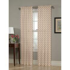 "Olivia Window Curtain Panel Gold (54""x95"") - Homewear"