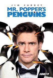 "Mr. Popper's Penguins ~ ""The life of a businessman begins to change after he inherits six penguins, and as he transforms his apartment into a winter wonderland, his professional side starts to unravel."""