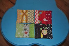 Patchwork Coasters - set of 4