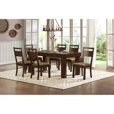 Woodbridge Home Designs Eagle Ridge 7 Piece Dining Set & Reviews | Wayfair