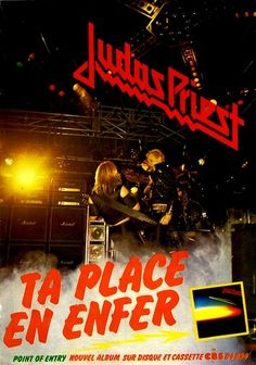"Judas Priest  | JUDAS PRIEST : ""Point of Entry"" • 26 février 1981/February 21, 1981"