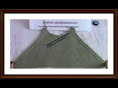 Kazak Bluz Ve Hırkalarda reglan Kol Kesmi yapılışı - YouTube Baby Knitting Patterns, Crochet Motifs, Crochet Top, Crochet Clothes, Two By Two, Men Sweater, Vest, Youtube, Sweaters