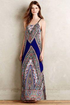 Lepontine Maxi Dress by Greylin