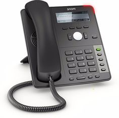 Snom SNO-D710 4 SIP Account, 4 Function Key, HD Audio SIP Business Desk Phone  #Snom