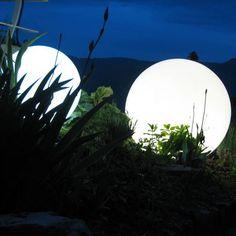 illuminated light up ball by jusi colour   notonthehighstreet.com