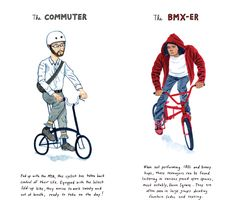 "Illustrator Kurt McRobert has created a catalog of NYC's cyclists, which includes 12 easily identifiable types such as ""The Messenger,"" ""Manhattan Girl,"" and ""Weekend Warriors."" Keep reading to find out who ""has no time for bullshit,"" which is ""the newest hazard to everyone on the road,"" and which of them is ""the cyclist you love to hate."""