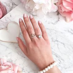 Three pretty new rings from Daniel for my birthday 💍🎂🎀 Feeling very lucky 😊 The rose gold princess ring is my favourite 💕 #Regram via @flipandstyle