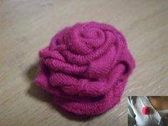 rosa-tecido