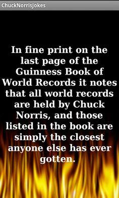 Chuck  Norris www.Facebook.com/McDojoLife