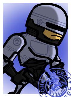 Robocop fan art by me :)