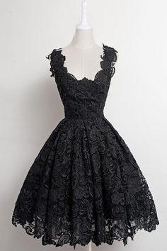 Cheap Party Dresses, Short Prom Dresses, Party Dresses Black, Prom Dresses For Teens, Prom Dresses Simple Short Homecoming Dresses Dresses Short, Simple Dresses, Pretty Dresses, Beautiful Dresses, Formal Dresses, Lace Dresses, Mini Dresses, Ebay Dresses, 1950s Dresses