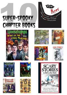 10 super-scary chapter books for brave young readers!