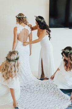 open back mermaid wedding dresses, affordable lace wedding dresses, dream wedding dress with slit Slit Wedding Dress, Dream Wedding Dresses, Bridal Dresses, Bridesmaid Dresses, Lace Wedding, Bridesmaid Crowns, Mermaid Wedding, Homecoming Dresses, Bridesmaids