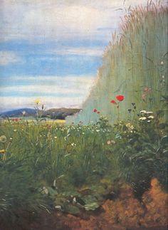 Szinyei Merse Pál: A pacsirta (részlet) / Lark (detail), 1882 Social Art, Garden Park, Landscape Paintings, Landscapes, Drawings, Photography, Image, Painters, Grass