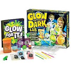 Glow-in-the-Dark Lab-Pique your child's curiosity with this fun, educational science kit. Simple instructions let you pick and choose from 20 different projects. Chinaberry.com