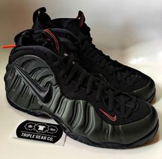 Buy Nike Air Foamposite Pro Sequoia Sneakers + Review e32bf32c2c47