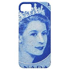 Vintage Queen Elizabeth Canada iPhone 5 Cover