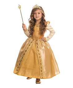 This Majestic Golden Princess Dress-Up Set - Toddler & Kids is perfect! #zulilyfinds