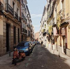 In beautiful Madrid